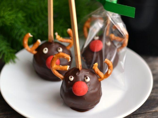Karácsonyi rénszarvasos popcake recept