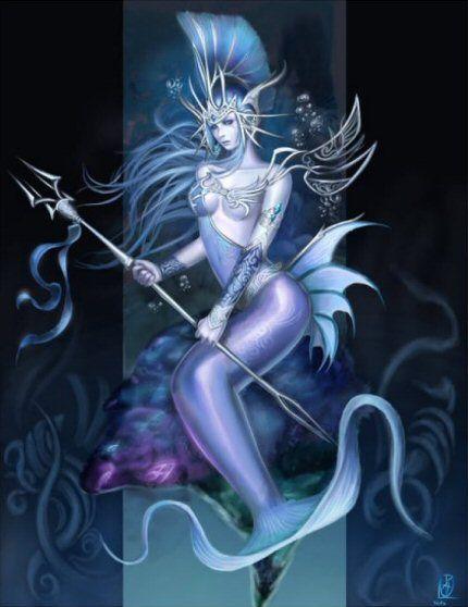 Mermaid Warrior. by jollyjack on DeviantArt