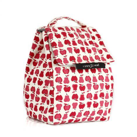 Lunch bag isotherme en coton BIO - motif fruits - SeBio