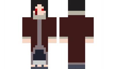 скачать скин для Minecraft итачи - фото 5