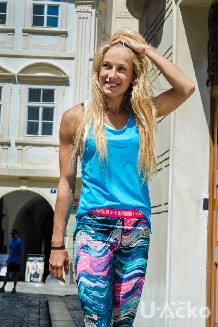 Barbora Procházková obléká Under Armour