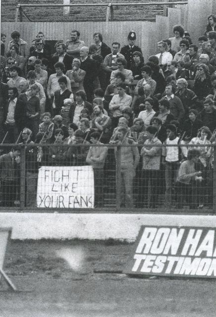 "Chelsea, 1978. ""Fight like your fans"""