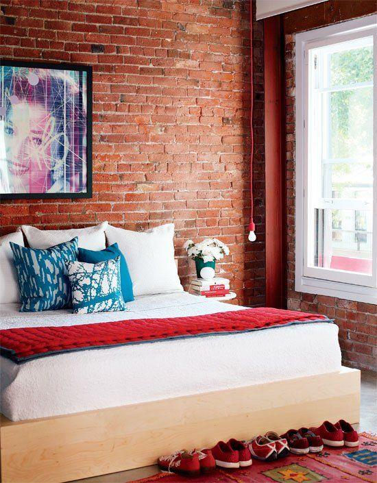 Die besten 25+ Industrielle plattform betten Ideen auf Pinterest - wandgestaltung für schlafzimmer