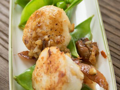 Grilled Scallops With Prosciutto And Lime Recipe — Dishmaps