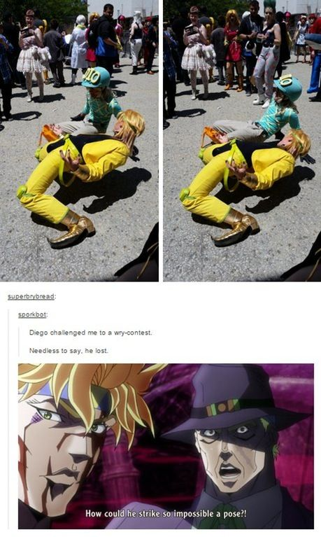 Diego challenges DIO to a wry contest : StardustCrusaders I-..HOW!?