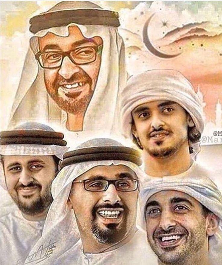 سمو الشيخ محمد بن زايد و أبنائه حفظهم الله جميعا Handsome Arab Men Sci Fi Fashion Arab Men