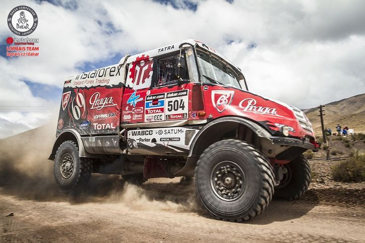Instaforex Loprais Team 2014 - redesign and wraps for Rally Dakar 2014.
