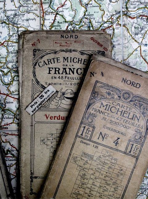 France (though preferably not with these vintage maps, however, I'm not sure if the modern ones will make much of a difference to me any way...)