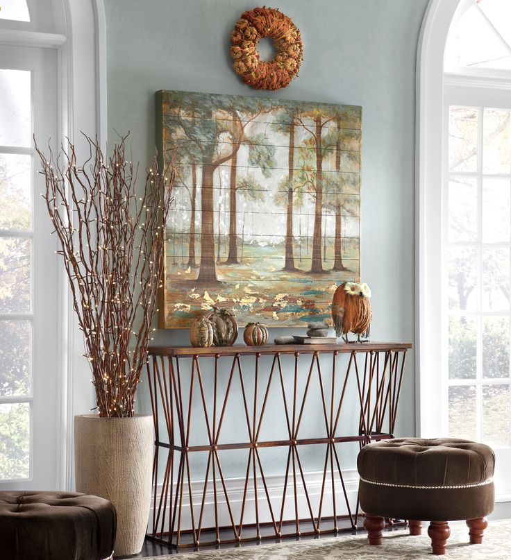 Autumn Foyer Decorating Ideas: Make your entryway a welcoming haven ...