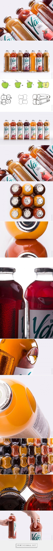 YAN juice packaging design by Backbone Branding - http://www.packagingoftheworld.com/2017/09/yan.html