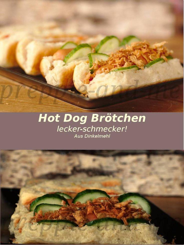 Hot Dog Brötchen,lecker-schmecker! – Preppie and me
