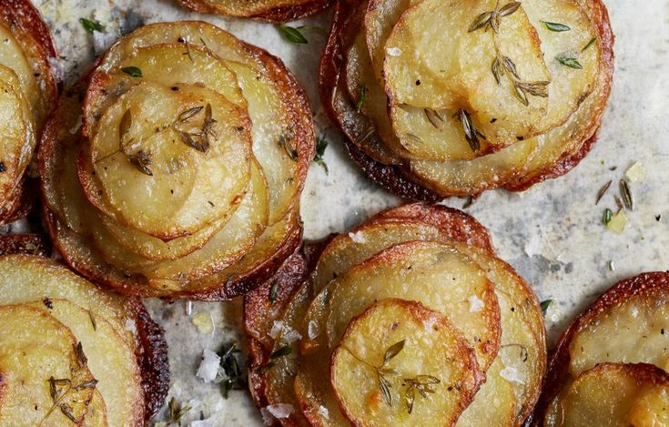 Mini Herbed Pommes Anna Recipe