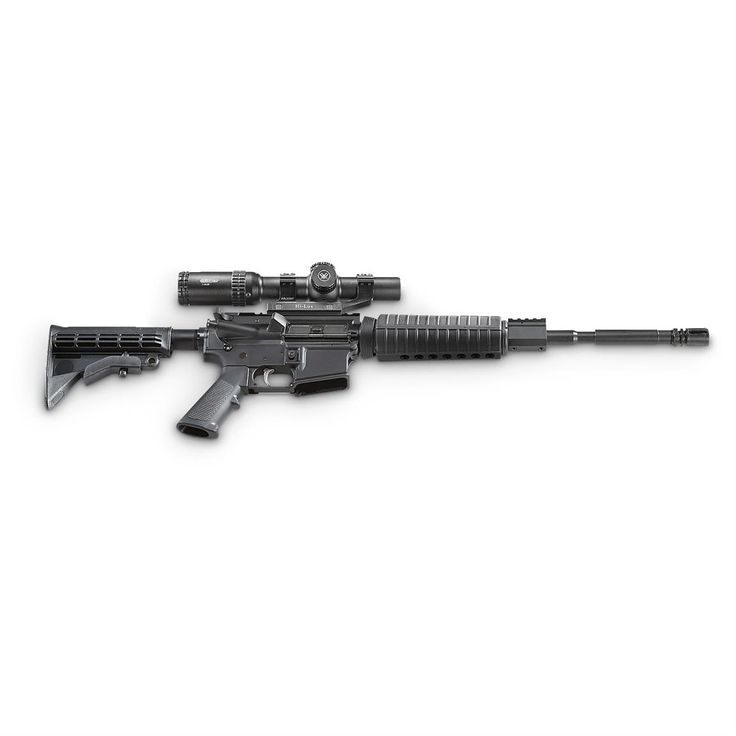 Anderson 5.56 NATO Semi-auto Rifle w/ Vortex 1-6x24mm Scope and Bonus AR Scope Mount