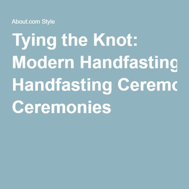 Tying the Knot: Modern Handfasting Ceremonies