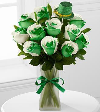 Luck of the Irish St. Patrick's Day -   St Patrick's Day Flowers  #stpatricksdayflowers #greenflowers