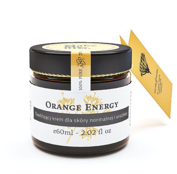 Orange Energy Nawilżający krem dla skóry normalnej i wrażliwej - Nieprzyzwoicie naturalny sklep dla kobiet lubiących siebie