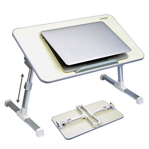Avantree Quality Adjustable Laptop Table, Portable Standi...