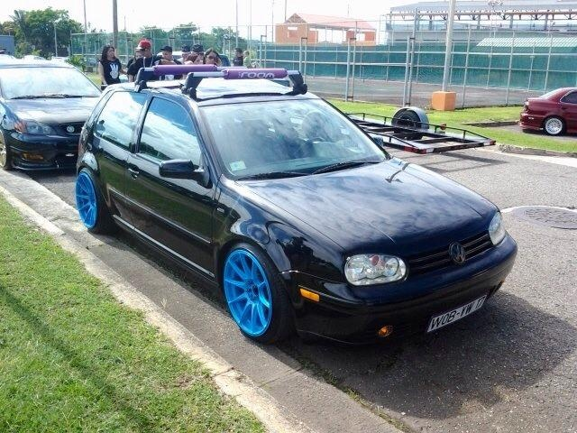 Carlos GTI Rocking Baby Blue18x9 XXR 531, Coil Overs And OEM Roof Rack | VW  MK4 PR | Pinterest | Roof Rack And Cars