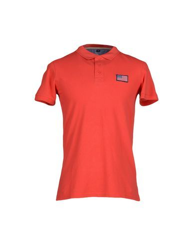 JOHNNY BRASCO Men's Polo shirt Coral L INT