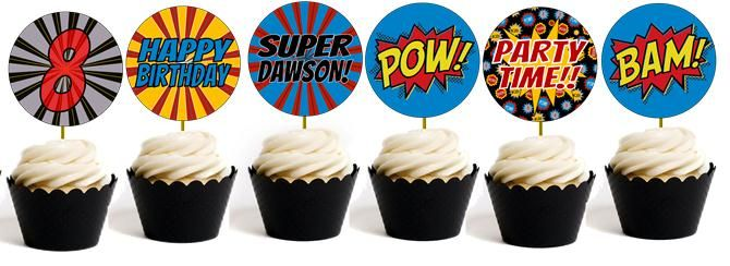 Tons of superhero party games to make your kids superhero birthday party AWESOME!