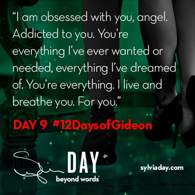 On the ninth day of Gideon my lover said to me…#12DaysofGideon