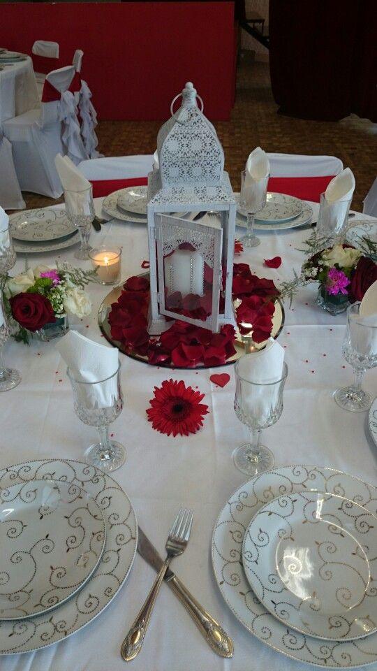 Centre de table lanterne orientale