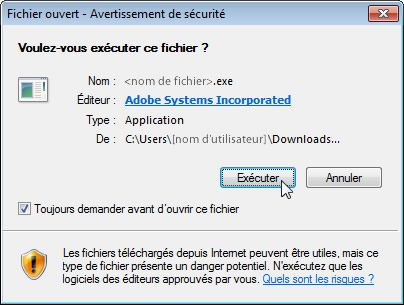 Adobe - Installation d'Adobe Acrobat Reader DC
