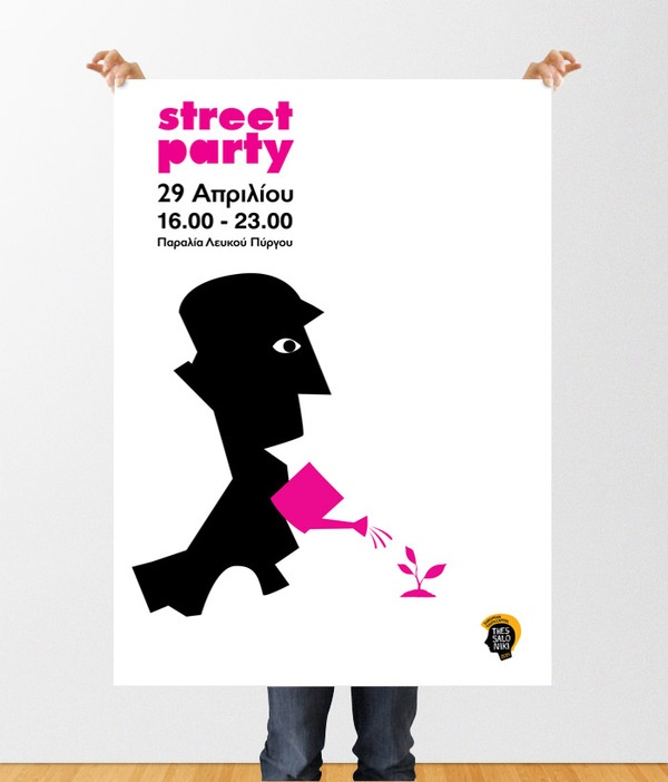 Thessaloniki EYC2014 Street Party by Gra-fistiki Design House , via Behance