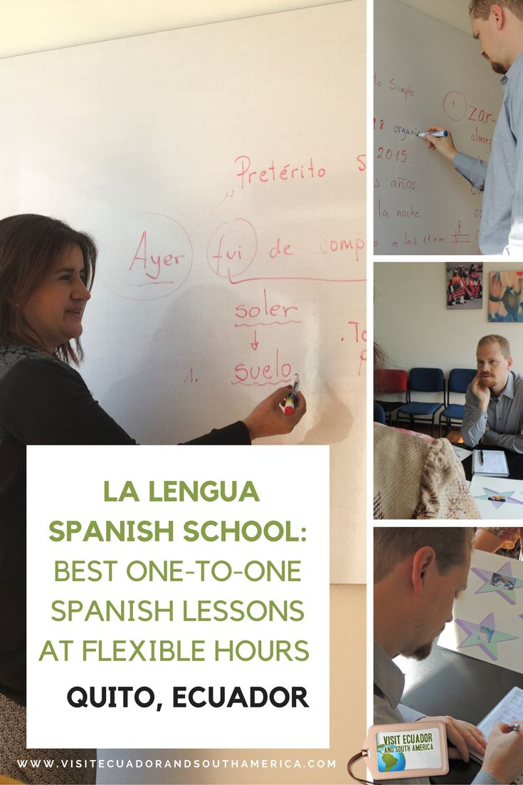 La Lengua Spanish School: Best one-to-one #Spanish lessons at flexible hours in #Quito They offer one-to-one classes which can be tailored to your liking and, best of all, your travel schedule.
