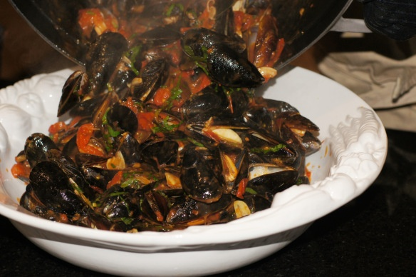 how to make your mussel white wine sauce creamier