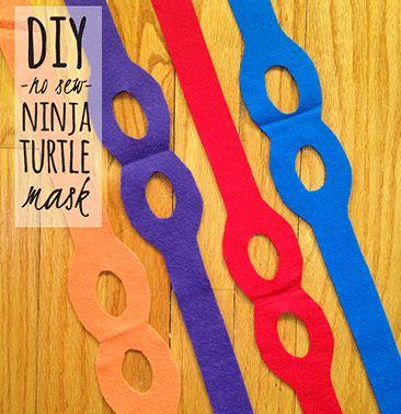 Cada cor representa uma Tartaruga Ninja Vermelho - Raphael Laranja - Michelangelo Azul - Leonardo Roxo - Donatello