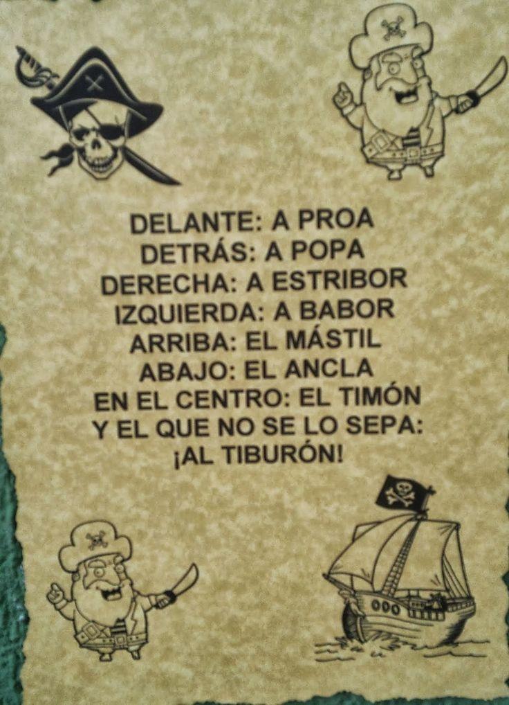juramento pirata infantil