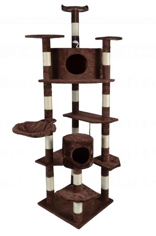 Cat-Tree-80-Condo-Furniture-Scratching-Post-Pet-Cat-Kitten-House-Pet-House-9080