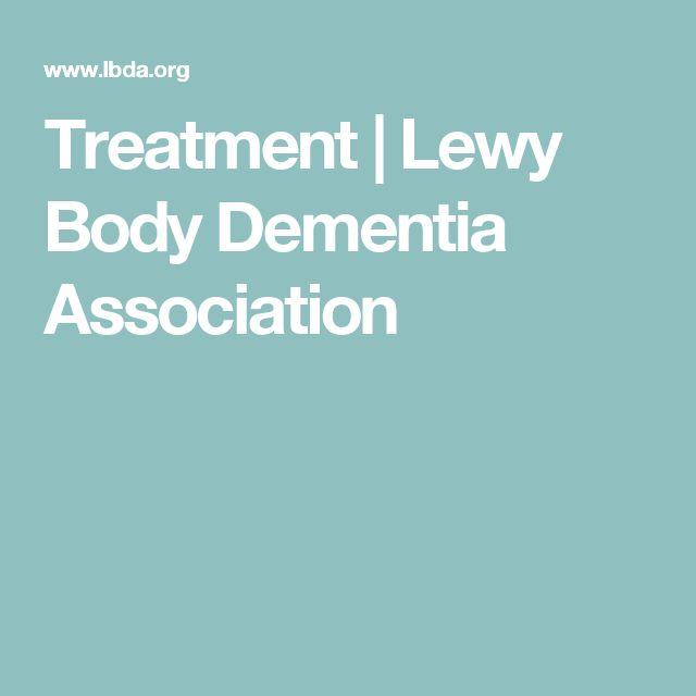Treatment | Lewy Body Dementia Association