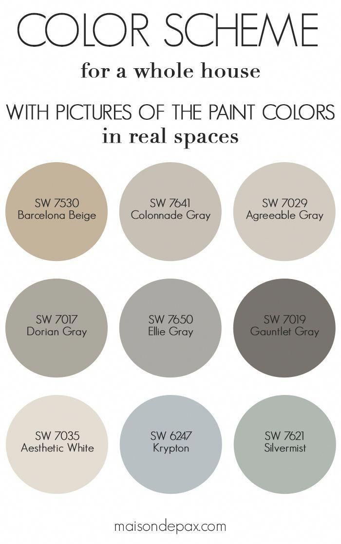 Best Neutral Gray And Greige Paint Colors In This Blog Post I M Sharing Which Paint Colors I Used I Agreeable Gray Paint Colors For Home Guest Bedroom Design