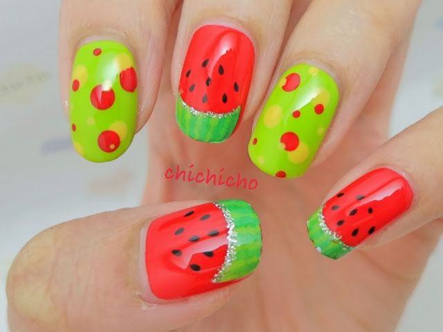 Watermelon Water Decal Nail Art - Born Pretty Store