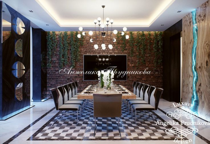 Апартаменты современного пентхауса на Кутузовской набережной в стиле лофт - фото