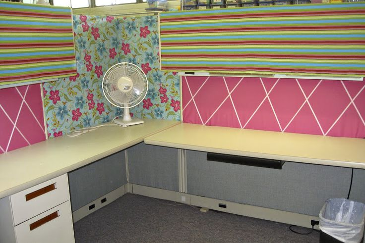 Mommy's Treasures: Extreme Cubicle Makeover - 2011 Edition
