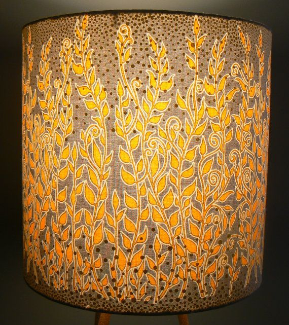 39 best lite shadow fabric lamp shades images on pinterest gray and gold drum lamp shade plant tendrils with by liteandshadow aloadofball Gallery
