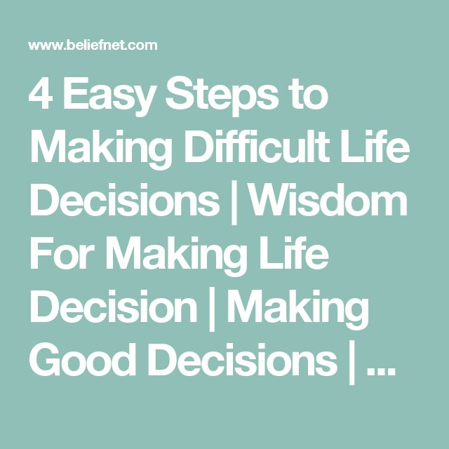 hard decision life essay Best answer: the specific instructions were write about a hard decision you had to make about a place, someone, or something it's always best to use your own experiences in writing.