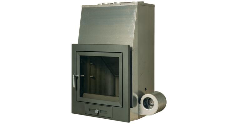 Hergom - Estufas, hogares y chimeneas de hierro fundido para leña y gas. Europa América - H-02 TC-1