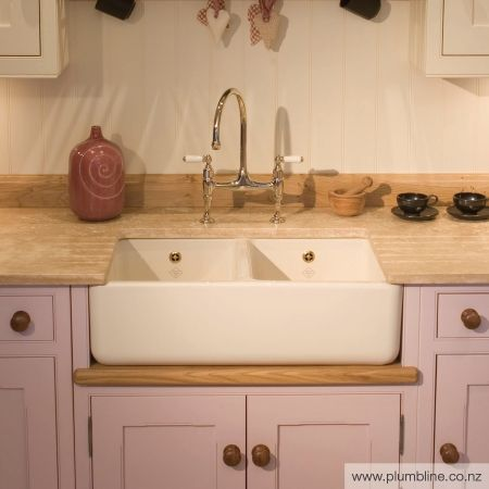 Classic 800 Double Butler Sink - Butler Sinks - Kitchen
