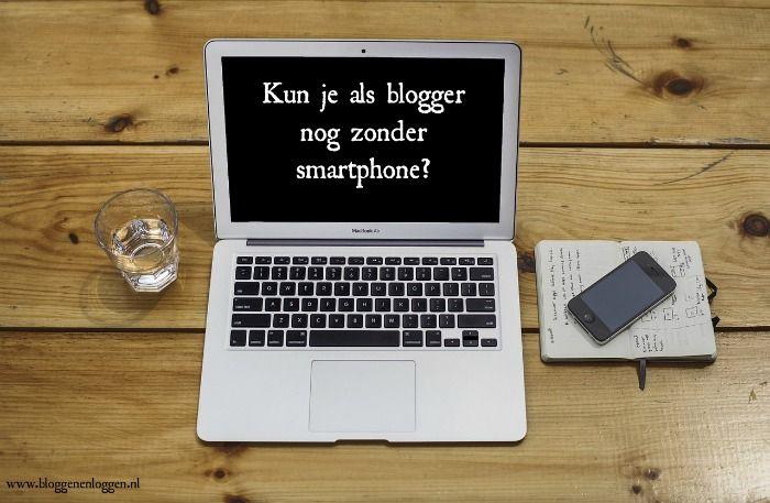 bloggen met smartphone