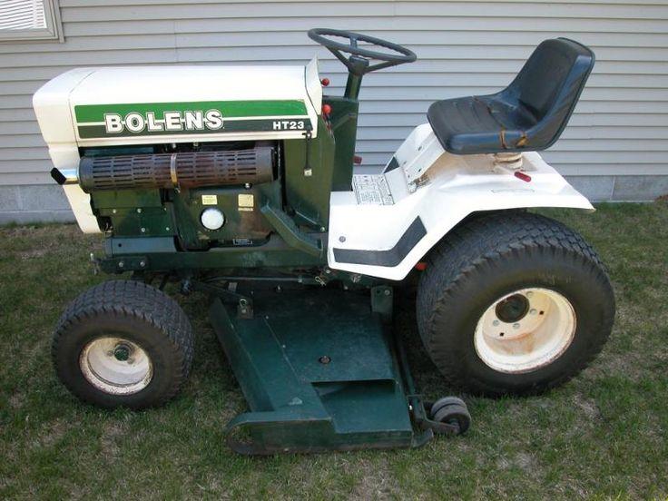 Lawn Tractor Frames : Best bolens tractors images on pinterest