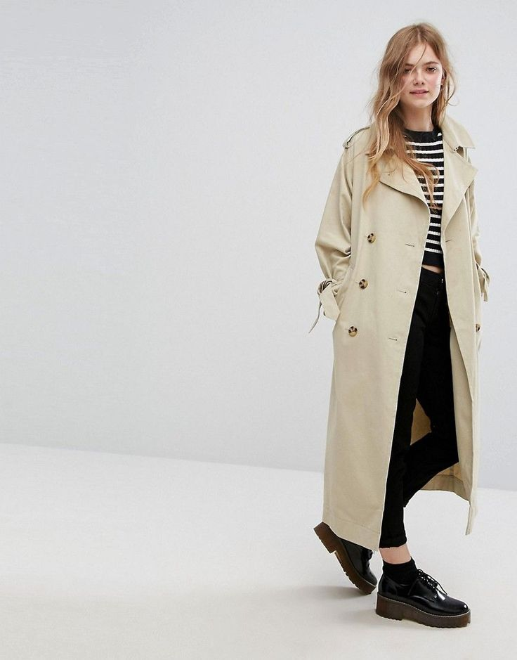Buy it now. Monki Heritage Trench Coat - Beige. Trench coat by Monki, Smooth woven fabric, Point collar, Button placket, Tie waist, Functional pockets, Regular fit - true to size, Machine wash, 100% Cotton, Our model wears a UK XS/ EU 34/US 4 and is 173cm/5'8 tall. If you�re all for personality and expression then Monki is the one for you. Known for its street-style-meets-Scandi-chic design and super-fun story-based store concepts, Monki grabs bold, brash colours and a whole lot of prints…
