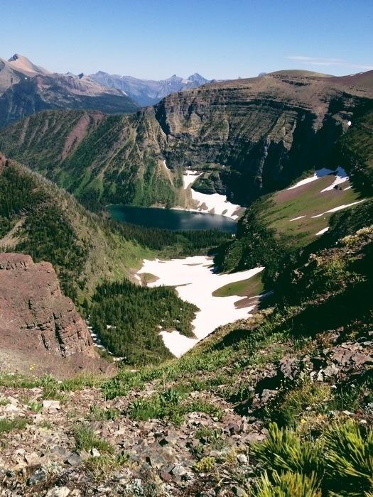 Waterton Park, Alberta  - Akamina Ridge Trail