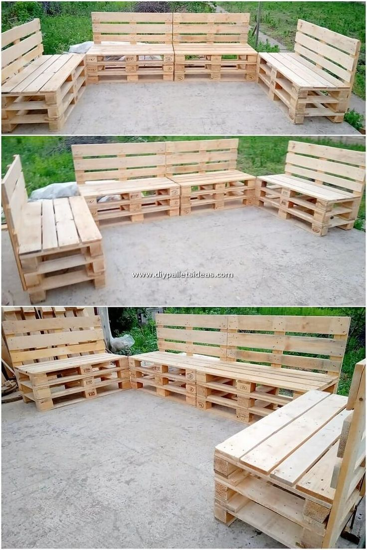 Surprising Projects Made With Shipping Pallets Pallet Diy