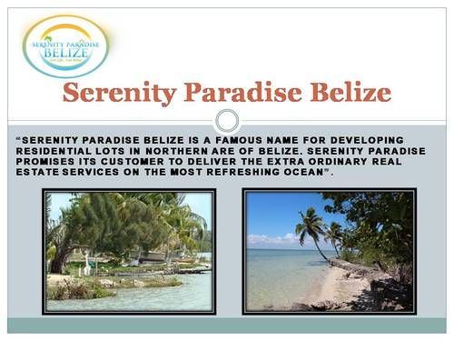 Serenity Paradise Belize - Belize Land for Sale : Serenity Paradise is the builder of residential lots in Belize, only 1800ft from the beautiful Corozal Bay. Our residential lots begin at the price of as low as $12500 USD per lot. This price of residential lots is inclusive of electric power. | steprosh