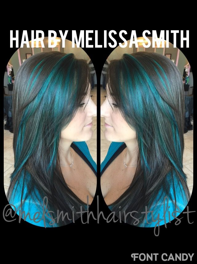 Teal hair / Joico fashion haircolor / Pensacola colorist / @melsmithhairstylist