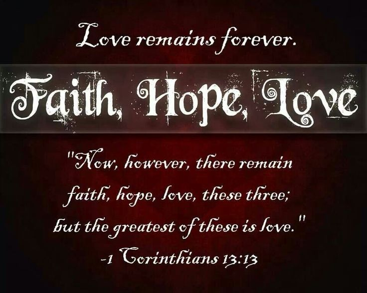 Inspirational Quotes About Faith And Love Inspiration 87 Best Faith Hope Love♡ Images On Pinterest  Thoughts